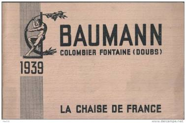 catalogue baumann 1939 1